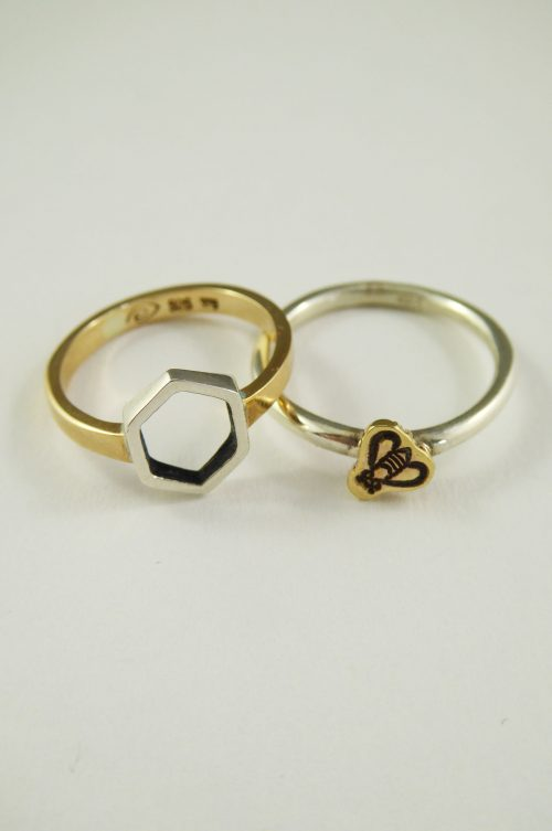 hexagon-bee-rings-2