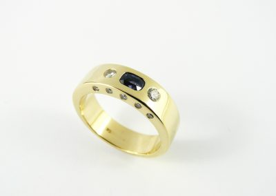 Mens dress ring