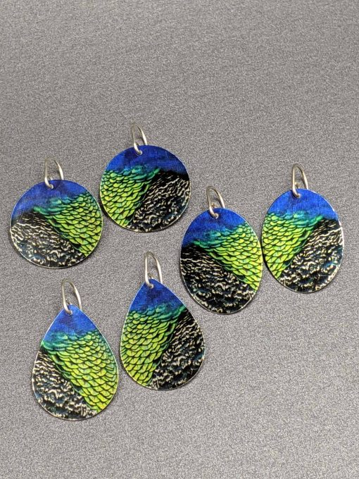 peacock-feather-earrings-handmade-contemporary-sublimated