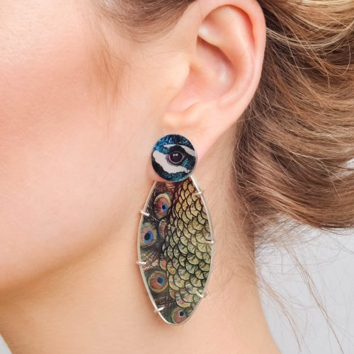 Contemporary-handmade-aluminium-sublimated-earrings