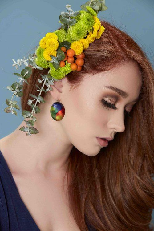 statement-earrings-rainbow-lorikeet-feathers-sublimated-aluminium