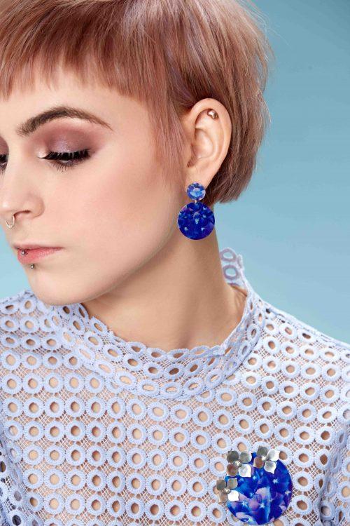 handmade-hydrangea-earrings-photograph-sublimated-Aluminium