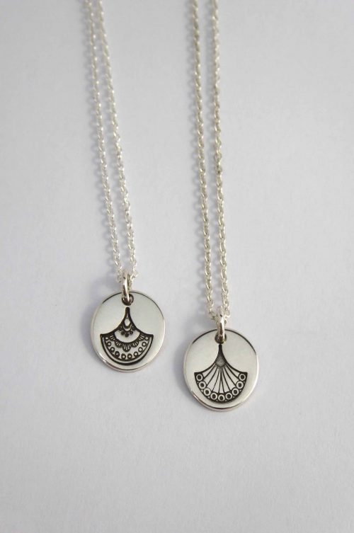 art-deco-fan-inspired-hand-stamped-sterling-silver-necklaces