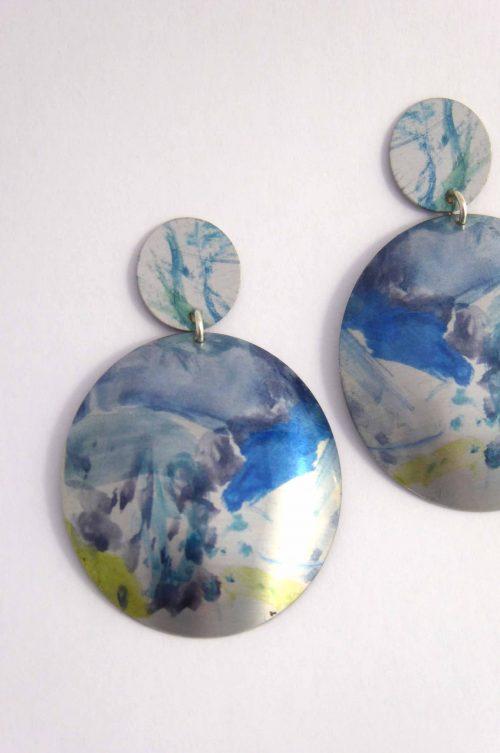 statement-stud-earrings-coloured-artwork-aluminium
