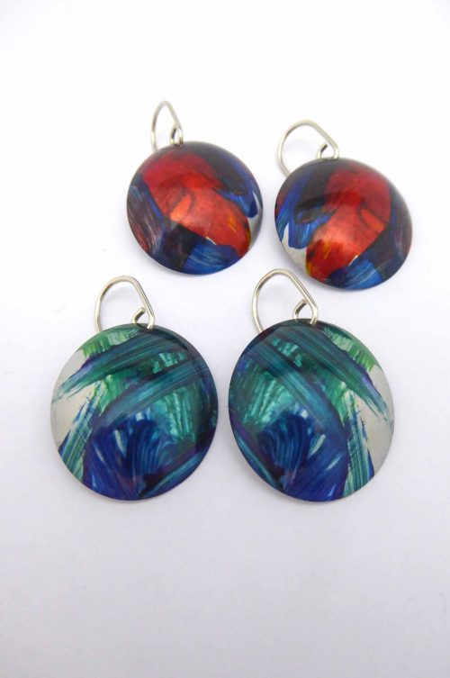 sublimation-printed-artwork-earrings-handmade-domed