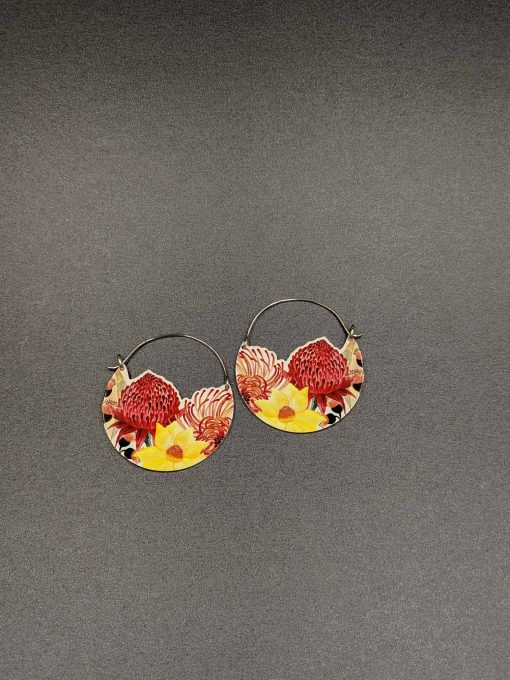 native-bloom-hoop-earrings-limited-edition-sublimated-Aluminium