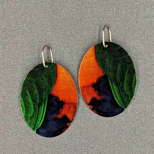 statement-feather-earrings-king-parrot-sublimated-aluminium