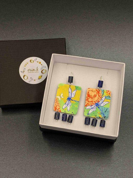 limited-edition-earrings-sublimated-aluminium-lapis-lazuli-dragonfly