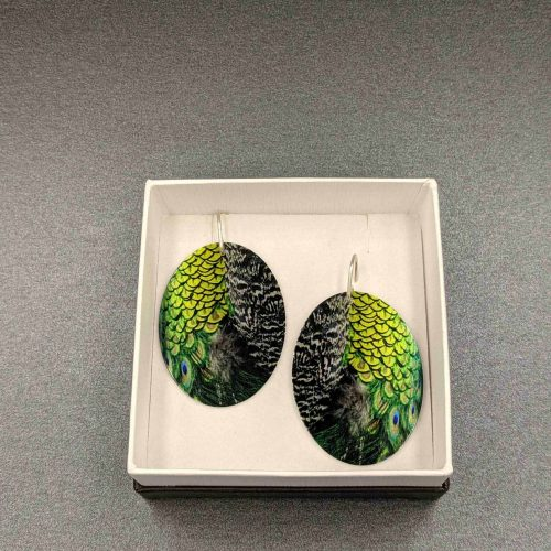 peacock-feathers-earrings-photograph-aluminium-sublimation