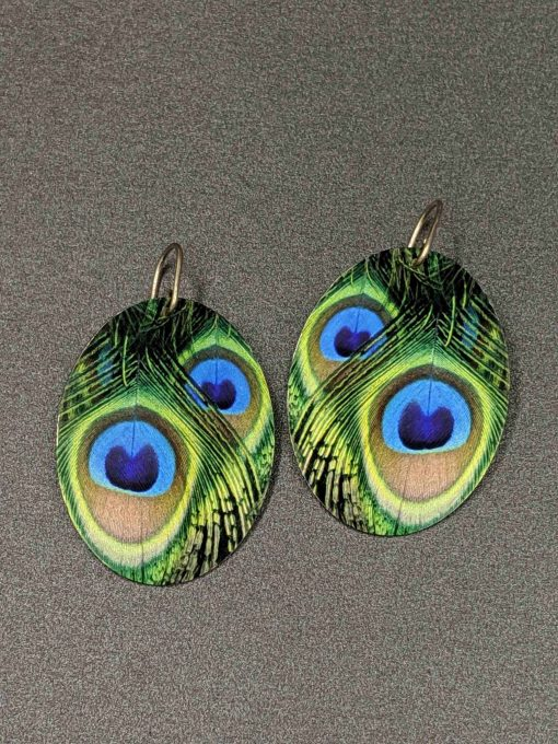 statement-earrings-eye-feather-peacock-plumage-aluminium