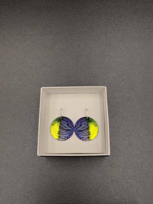 rainbow-lorikeet-feather-earrings-sublimation-printed-aluminium