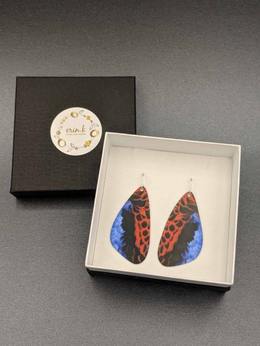 crimson-rosella-feather-earrings-sublimated-aluminium