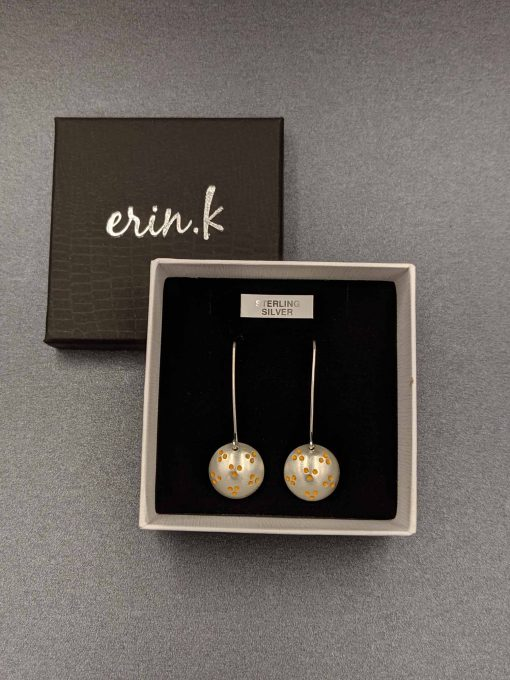 wattle-inspired-contemporary-handmade-brushed-hand stamped-earrings