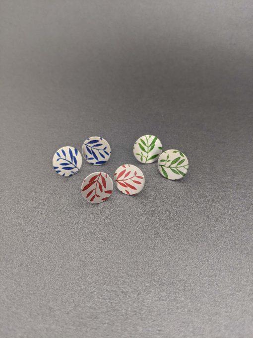 Foliage-collection-Aluminium-leaf-stud-petite-earrings